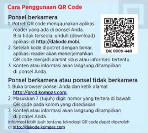 cara penggunaan qr code