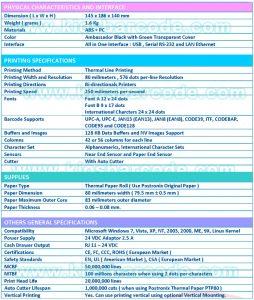 Printer Kasir Postronix TX-99 Plus
