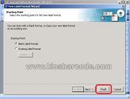 Cara Setting Label Barcode dengan Software Bartender 9.20 Ultralite