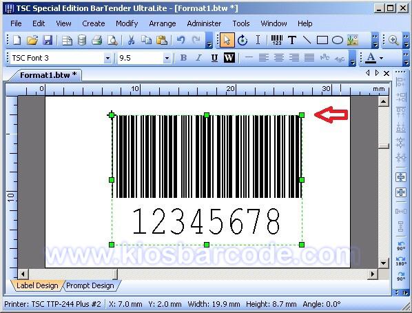 cara mudah untuk mencetak barcode