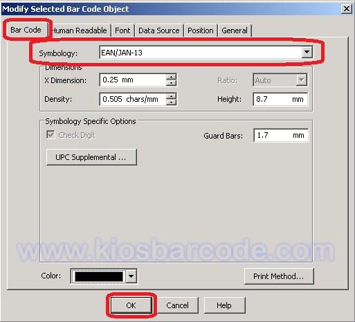 cara menggunakan printer barcode