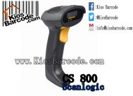 Scanner Barcode Scanlogic CS 800 Plus