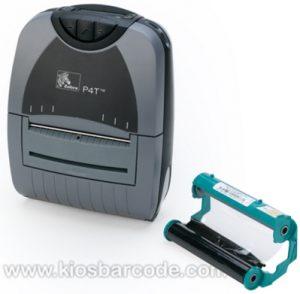 Printer Barcode Mobile Zebra P4T