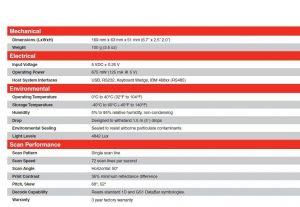 Scanner barcode Honeywell Eclipse MK-5145