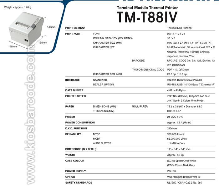printer kasir tm-t88