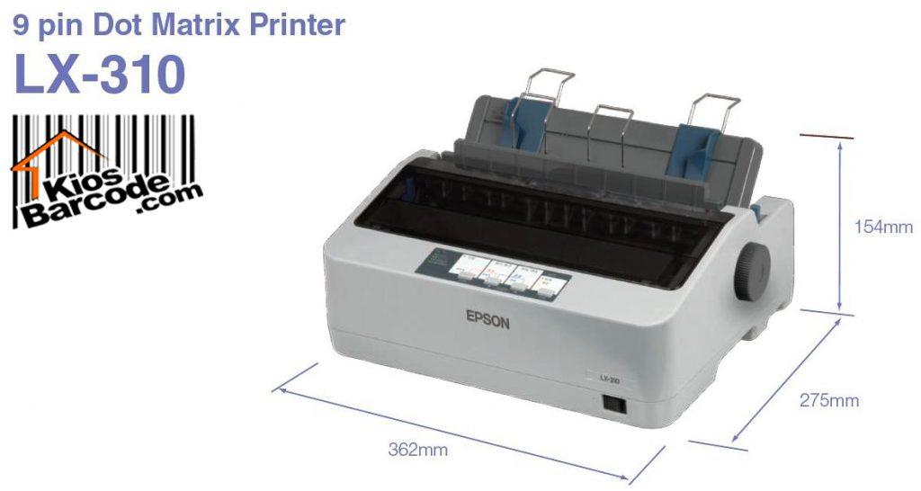 (1)PRINTER EPSON LX-310