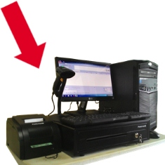 paket komputer kasir siap pakai