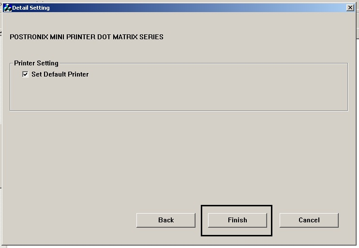Cara Install Driver Dan Setting Port Pada Printer Postronix TX-250