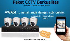 Paket Cctv Infinity 4 Channel
