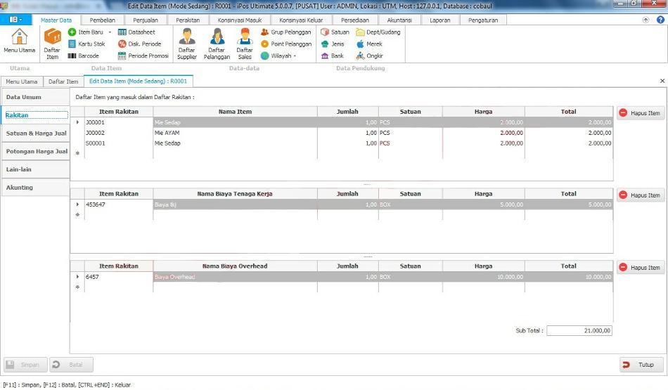 Software Toko IPos 5.0 Edisi Ultimate