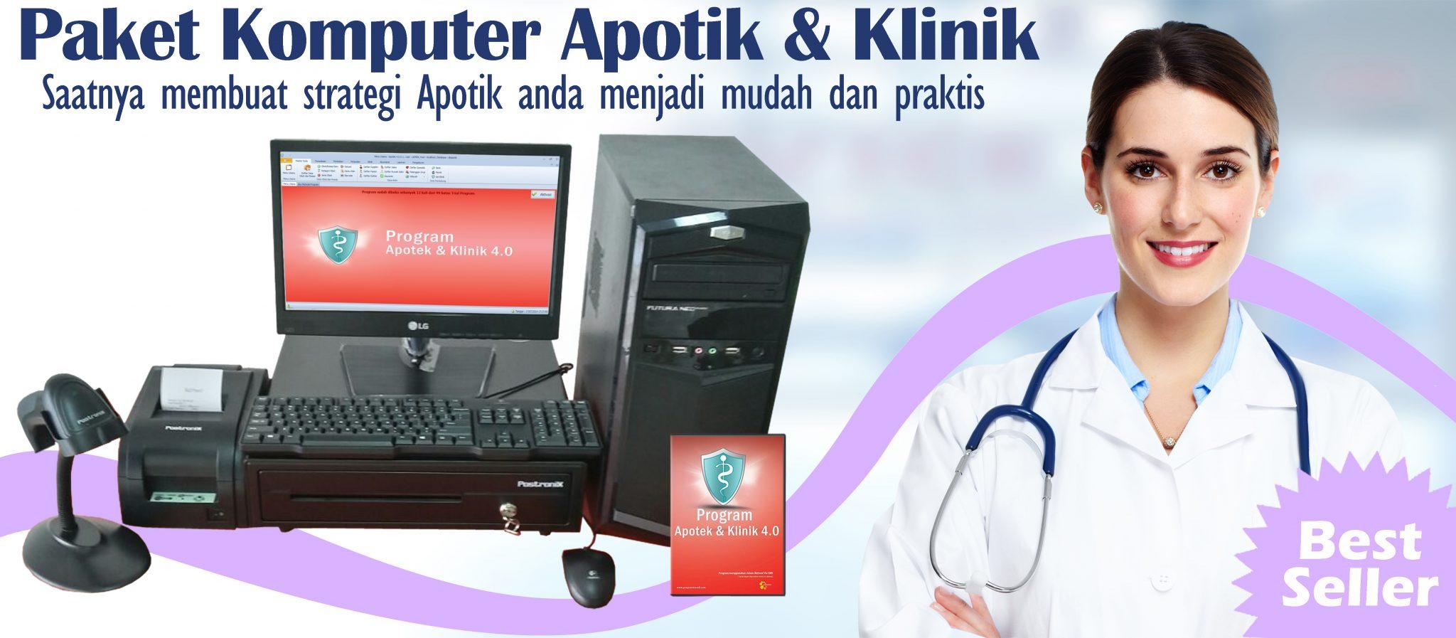 Order Paket Komputer Apotek dan Klinik
