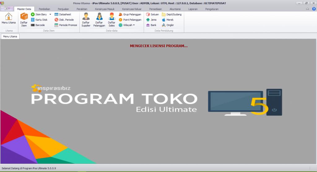 Program Toko IPOS 5 Ultimate