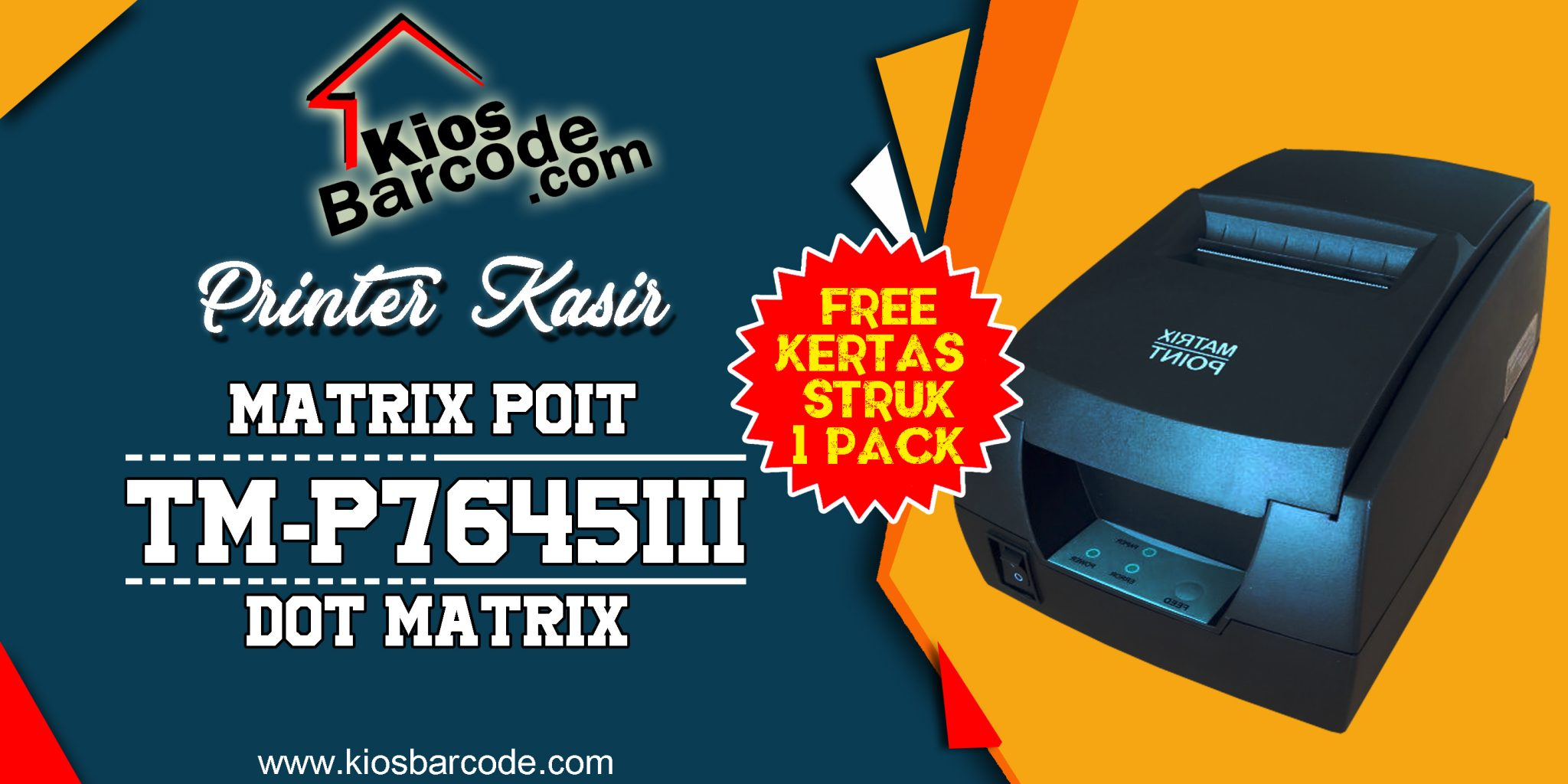 Jual Printer Kasir Plus Gratis Kertas Struk 1 Pack