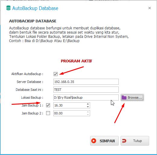 Tips Agar Tidak lupa Backup database ipos 5