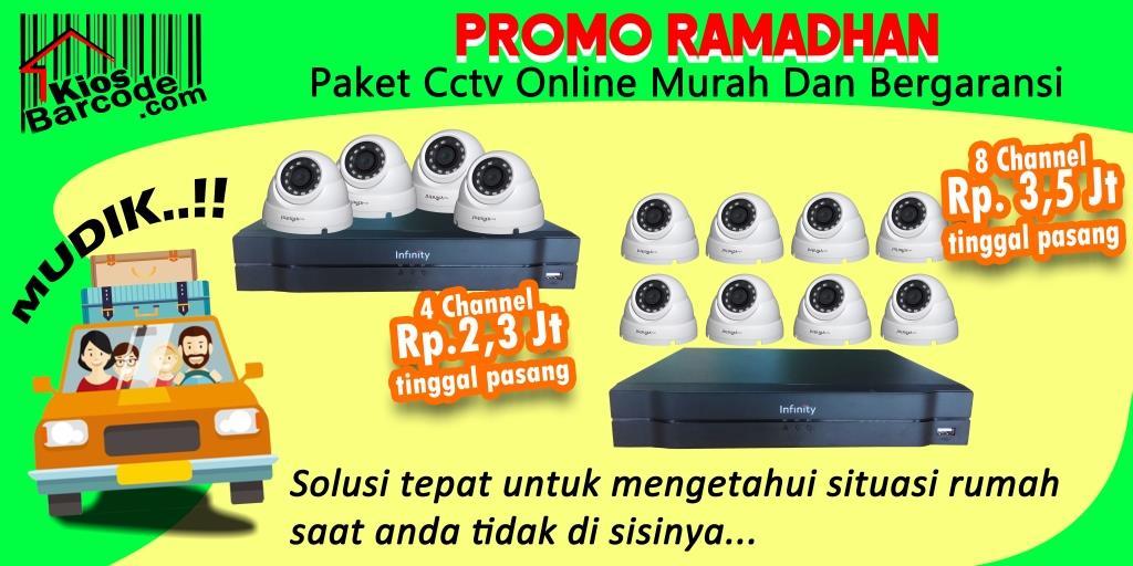 Promo Ramadhan Paket CCTV Online Murah dan Bergaransi