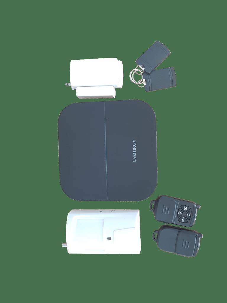 Kanasecure W20 Smart Alarm WIFI, GPRS, GSM