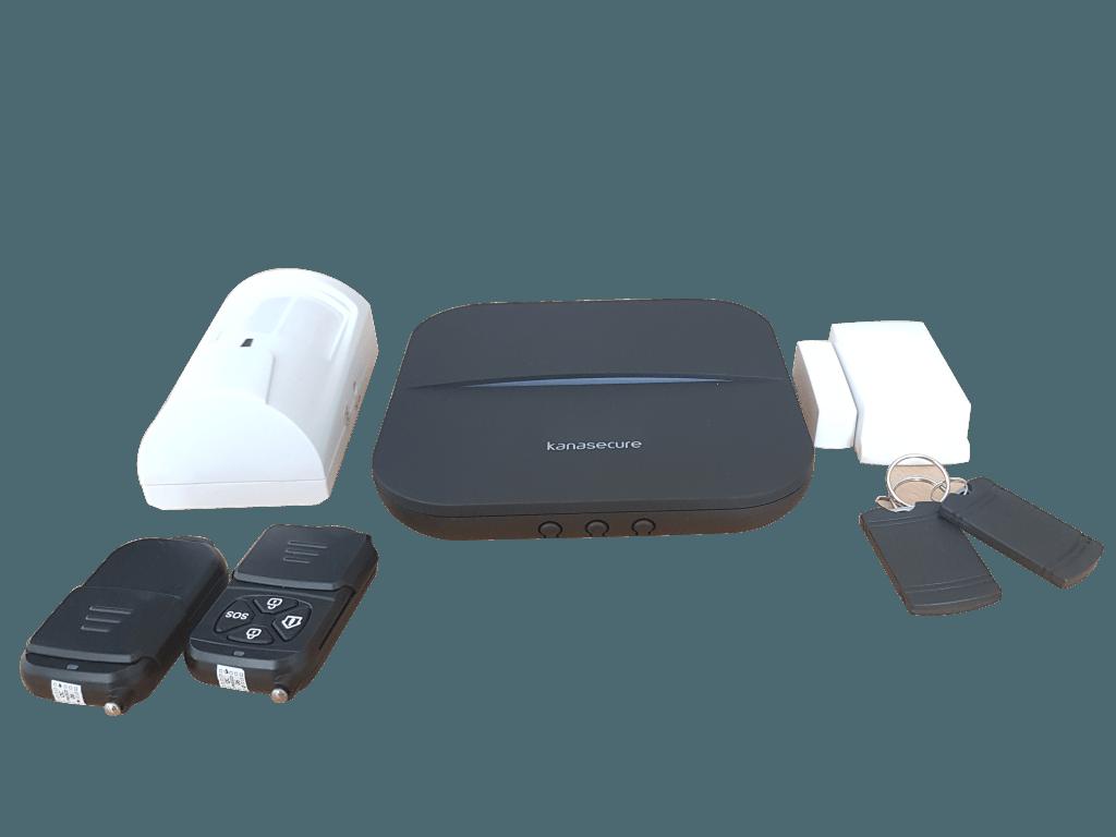 Kanasecure W20 Smart Alarm WIFI, GPRS ,GSM