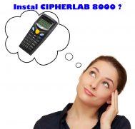 Tutorial Instal  CIPHERLAB 8000 Mudah