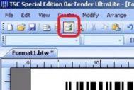 Cara Setting Label Barcode Agar Hasil Cetak Ditengah