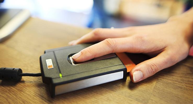 Mencari mesin fingerprint