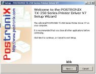 Cara Install Driver Printer Postronix TX-250